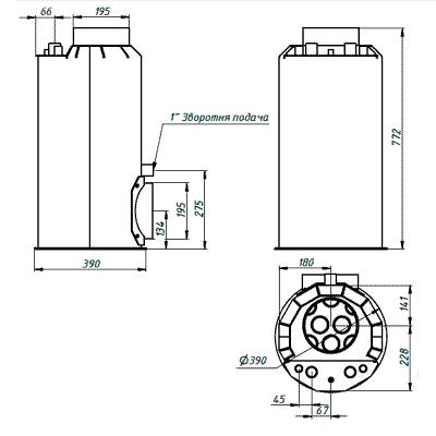 Аквамодуль 4 кВт G&S