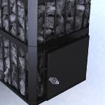 Піч-кам'янка Пруток без виносного каналу