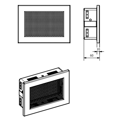 Решітка вентиляційна KRVZSM Ventlab